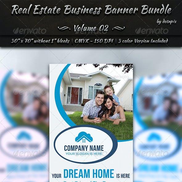 Real Estate Business Banner Bundle | Volume 2