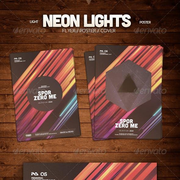 Neon Lights Flyer
