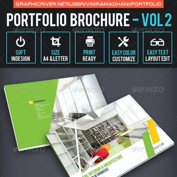 Portfolio Brochure Volume 2