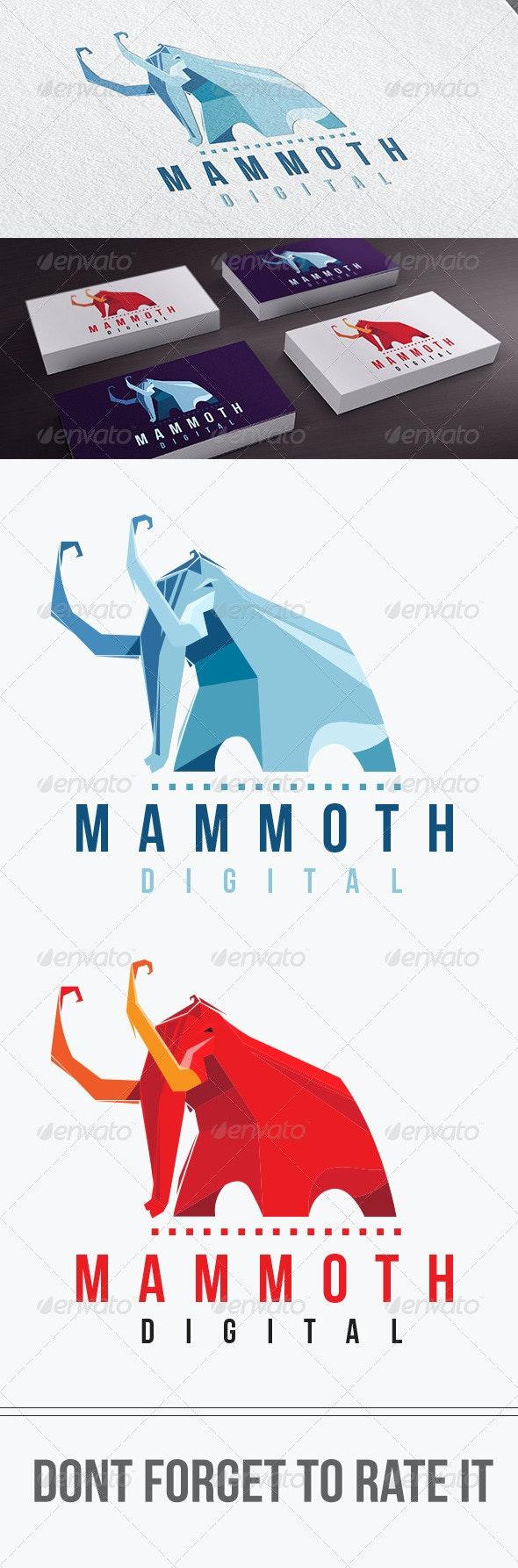 Mammoth Digital Logo Templates - Symbols Logo Templates
