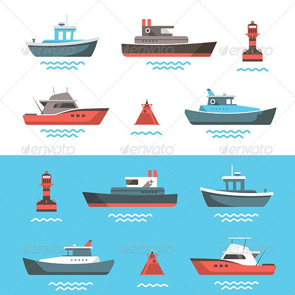 Illustrations of Boats