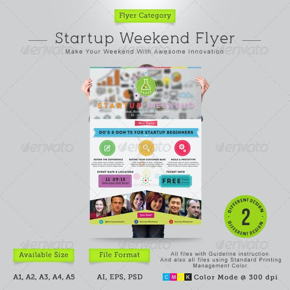 Startup Weekend Flyer
