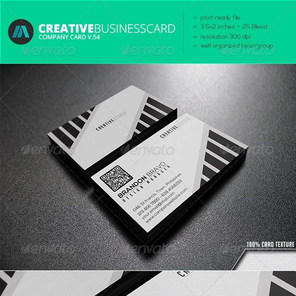 IntenseArtisan Business Card Vol.54