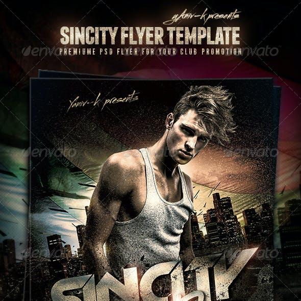 SinCity Flyer Template