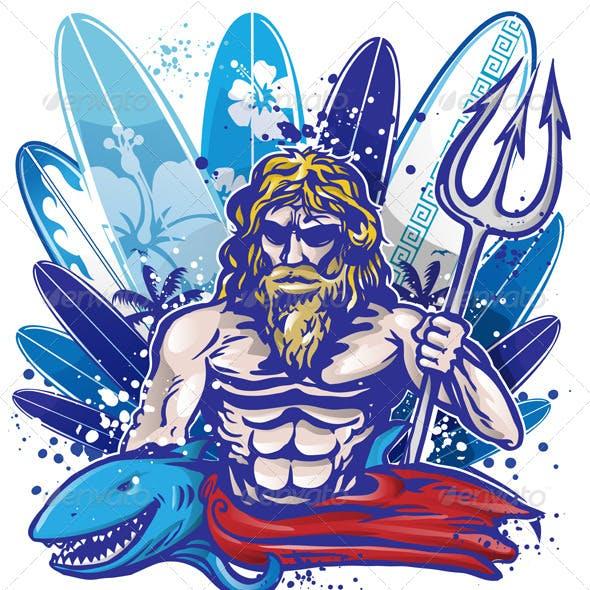 Poseidon Surfer
