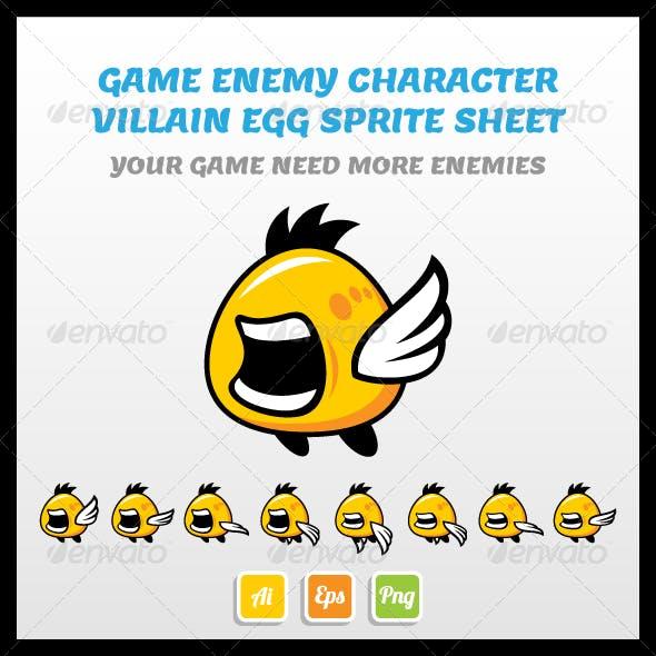 Villain Egg Sprite Sheet