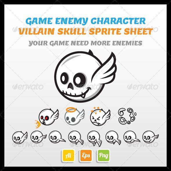 Villain Skull Sprite Sheet