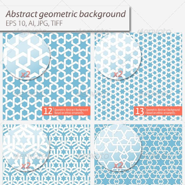 Abstract Geometric Background Set