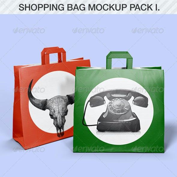 Shopping Bag Mockup Pack I.
