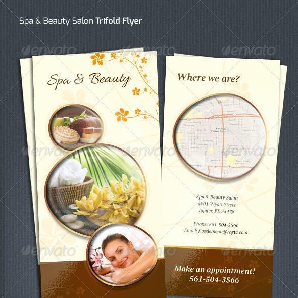 Spa & Beauty Salon Flyer
