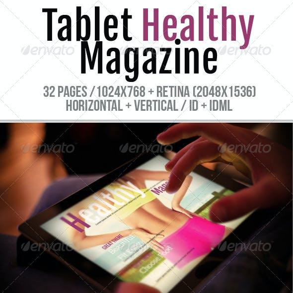 iPad & Tablet Healthy Magazine