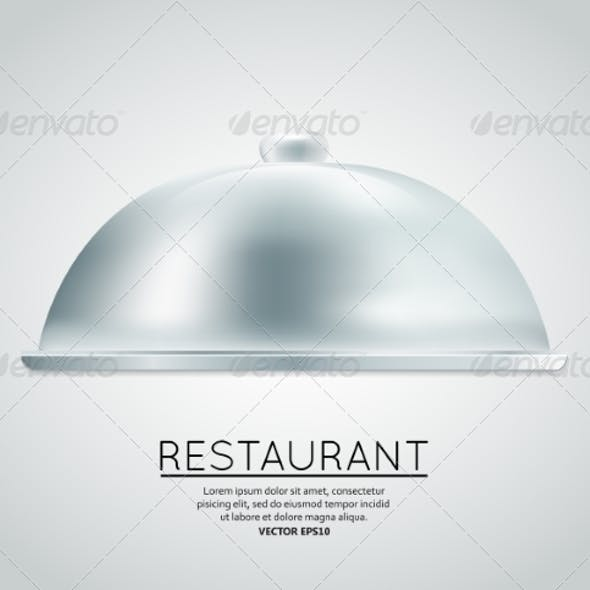 Restaurant Cloche Food Tray