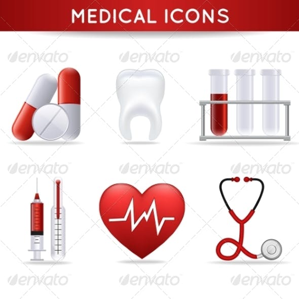 Health Care Medical Icons Set