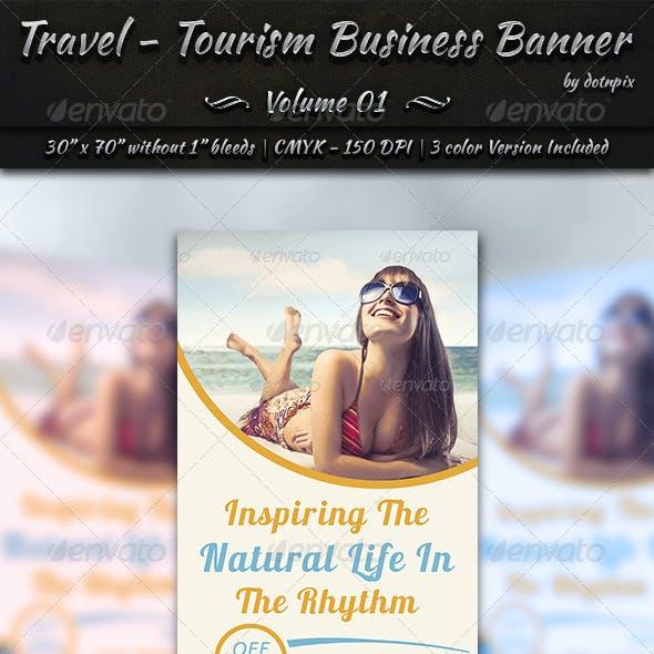 Travel / Tourism Business Banner | Volume 1