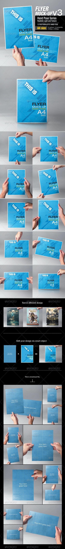 Flyer Mock-Up v3 - Flyers Print