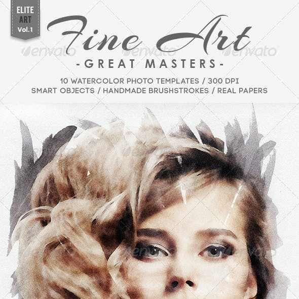 Fine Art - Great Masters / Vol.1