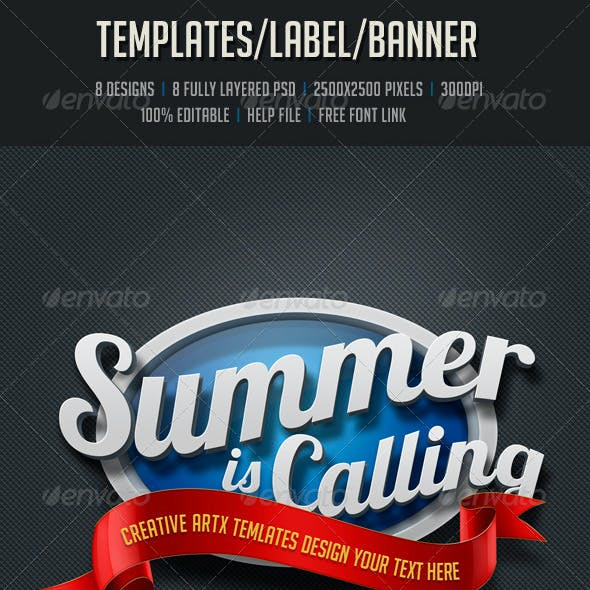 Templates/Label/Banner