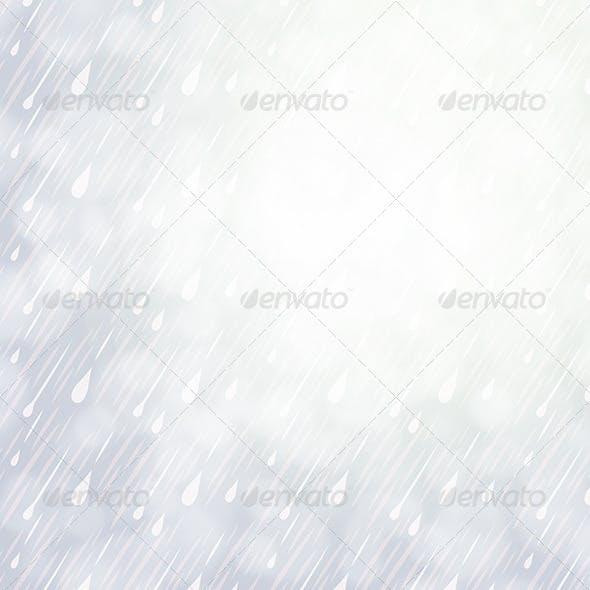 Overcast Rainy Day Background