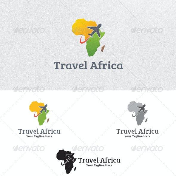 Travel Africa - Logo Template