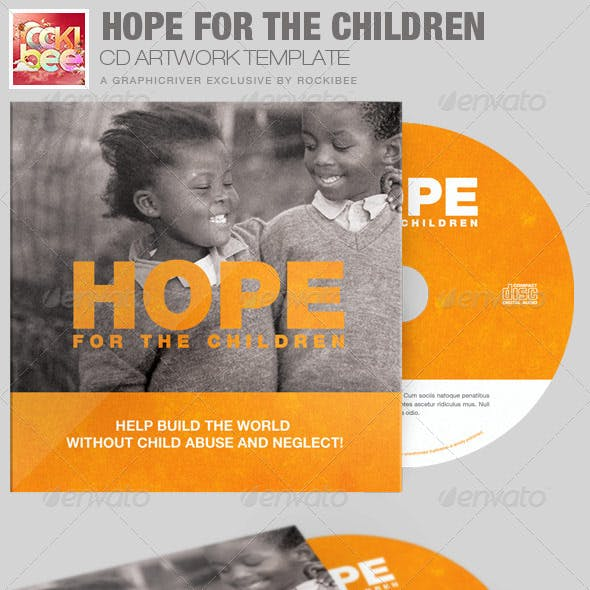 Hope for the Children Charity CD Artwork Template