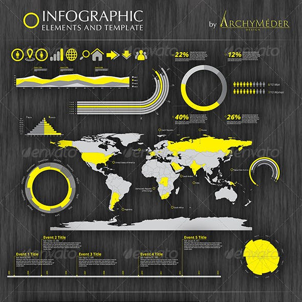 Infographic Element and Template
