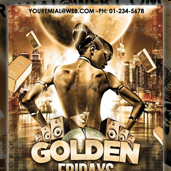 Golden Fridays Party