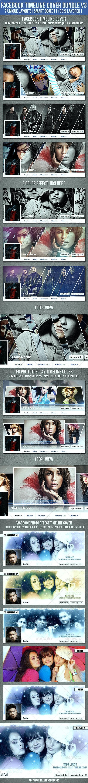 Facebook Timeline Cover Bundle V3 - Facebook Timeline Covers Social Media