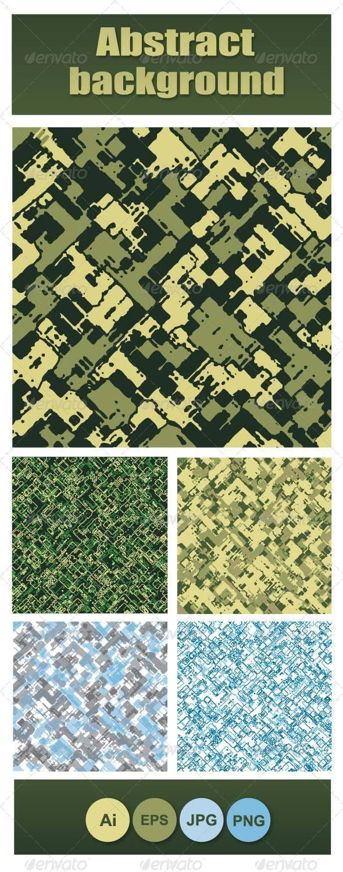Camouflage Textures - Backgrounds Decorative