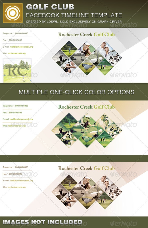 Golf Club Facebook Timeline Cover Template by loswl ...