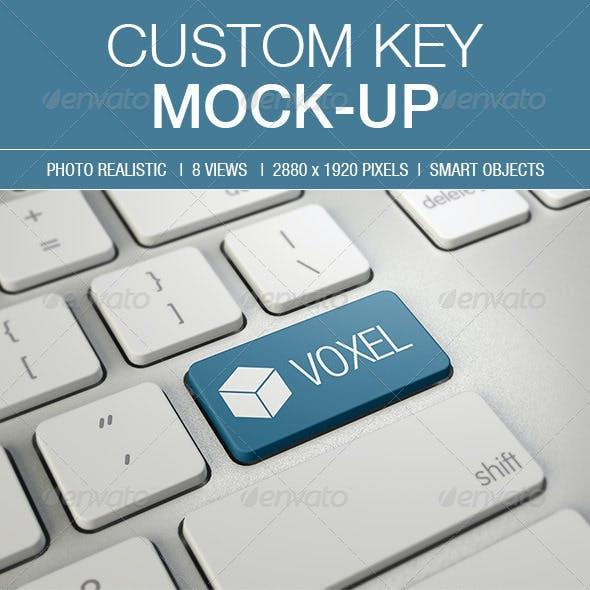 Custom Key Mockup
