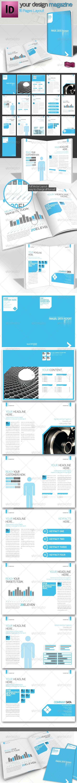 Professional Brochure // Magazine Template // A4  - Corporate Brochures