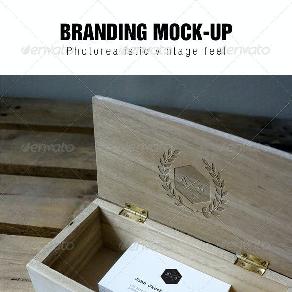 Vintage Branding Mockup