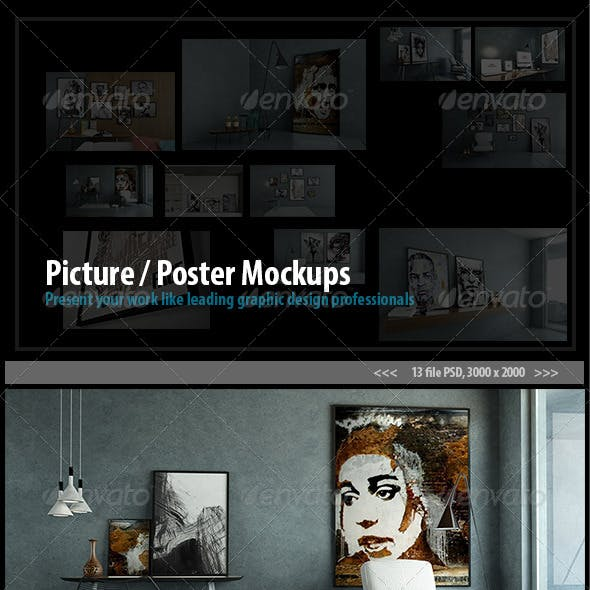 Picture / Poster Mockups