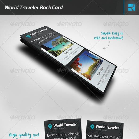 World Traveler Rack Card