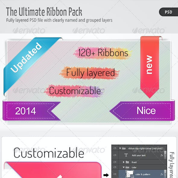 The Ultimate Ribbon Pack