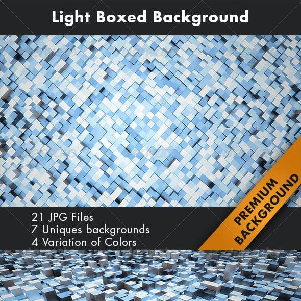 Light Boxed Background