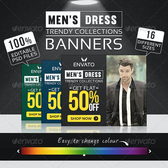 Fashion Clothing Banners