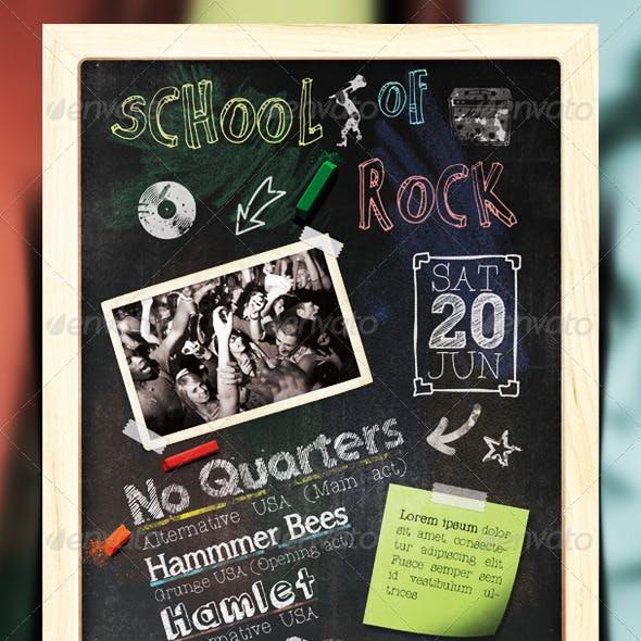 School Of Rock Flyer / Poster