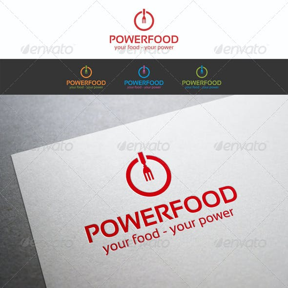 Power Food Logo Template_v2