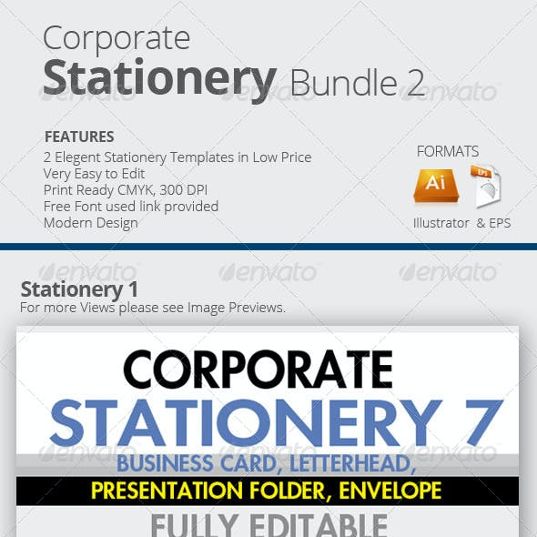 Corporate Stationery Bundle 2