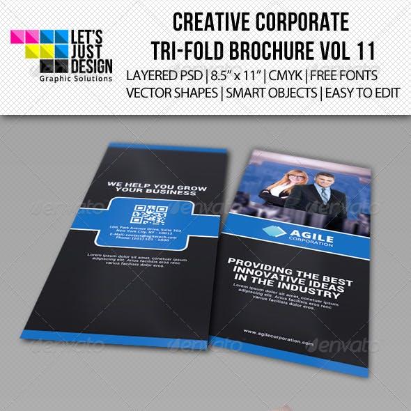 Creative Corporate Tri-Fold Brochure Vol 11