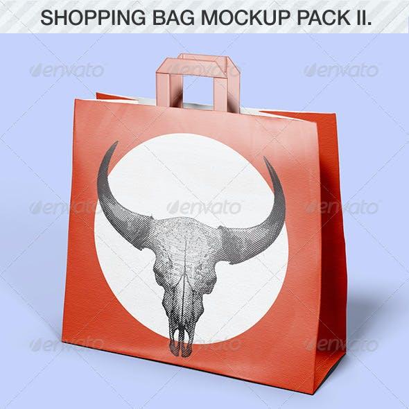 Shopping Bag Mockup Pack II