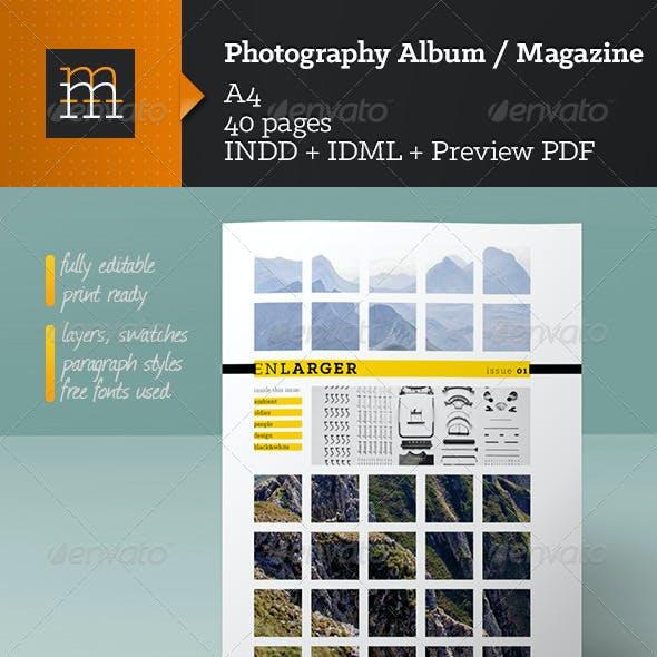 Photography Album / Magazine
