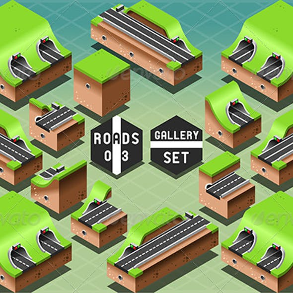 Isometric Galleries Tunnels and Sections