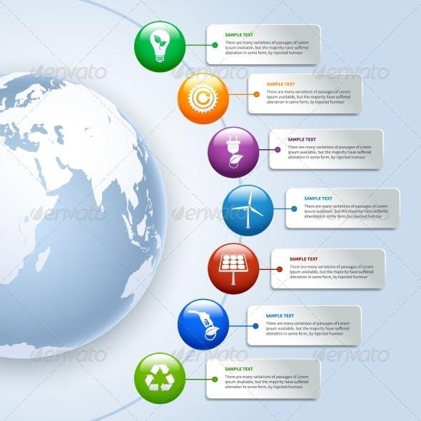 Green Energy Infographics