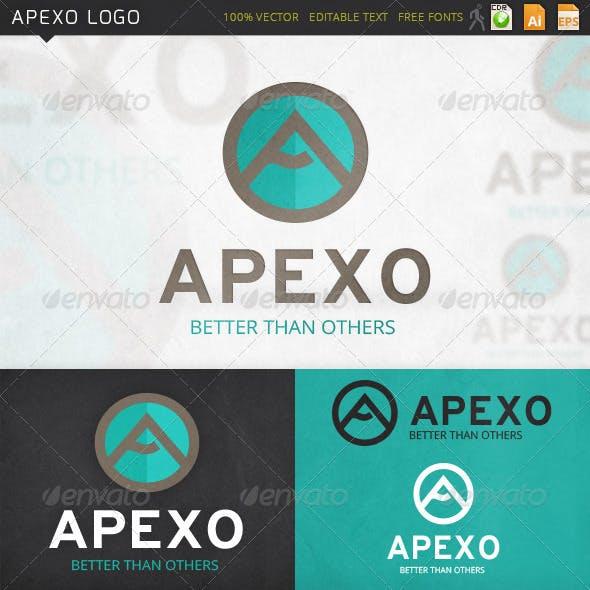 Apexo Letter A Logo Template