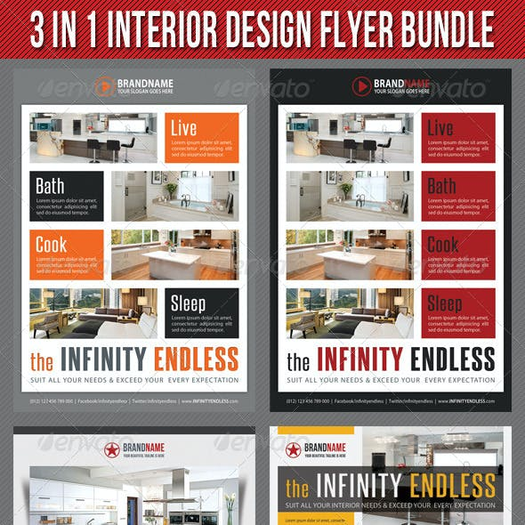 3 in 1 Interior Product Flyer Bundle 04