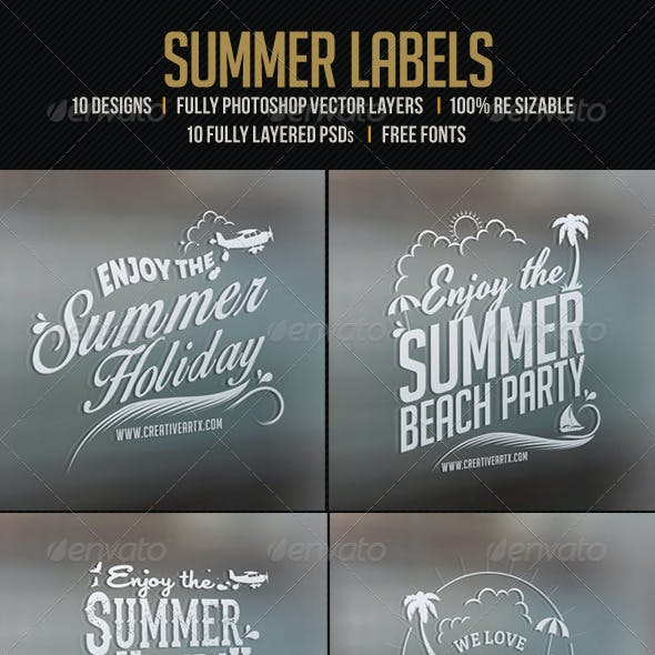 10 Summer Labels
