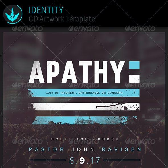 Apathy: CD Artwork Template