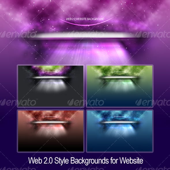 Space Backgrounds for Websites